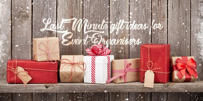 Last-Minute Gift Ideas for Event Organisers