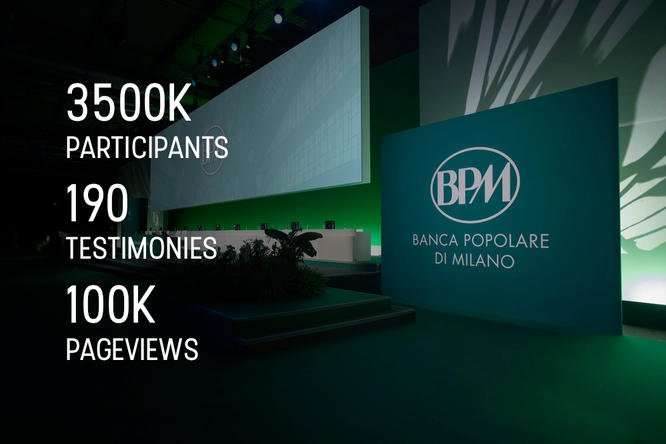 Banca Popolare di Milano chooses PowerVote Mobile Event App to share a big change!