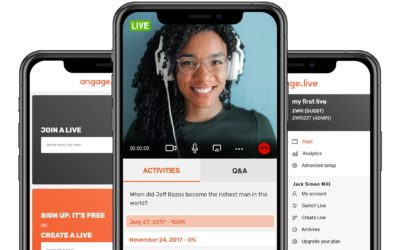 Angage.live: Discover your unique interactivity feed