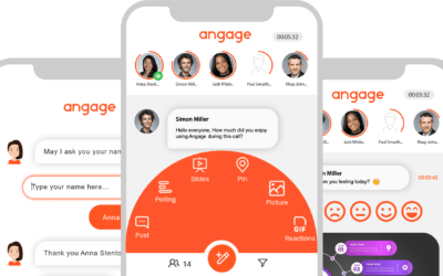 Angage.audio, your interactive audio conferencing tool that is also good for the planet