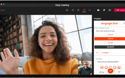 NEW : Use Angage.live in Microsoft Teams