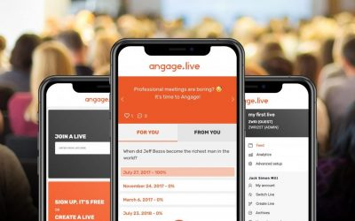 Angage.live: Go Digital and Boost Meeting Participation Rates in 1 Click!
